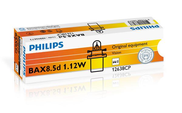 Philips Gloeilamp instrumentverlichting 12638CP