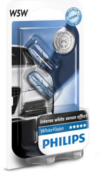 Philips Gloeilamp achterlicht / Gloeilamp derde remlicht / Gloeilamp deurlicht / Gloeilamp instaplicht / Gloeilamp interieurverlichting / Gloeilamp kentekenverlichting / Gloeilamp knipperlicht / Gloeilamp kofferruimteverlichting / Gloeilamp leeslamp 12961NBVB2