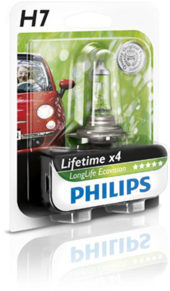 Philips Gloeilamp bochtcorrectieschijnwerper / Gloeilamp daglicht / Gloeilamp grootlicht / Gloeilamp koplamp / Gloeilamp mistlicht 12972LLECOB1