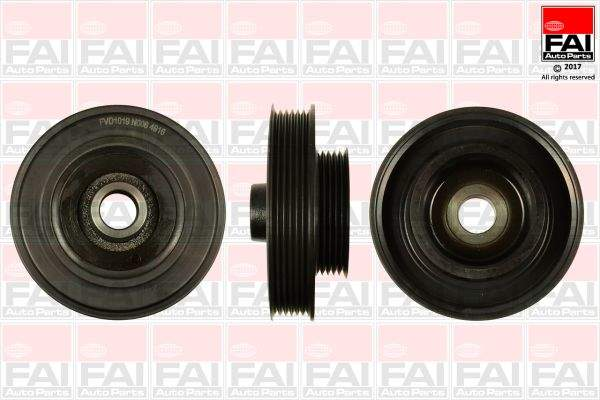 Fai Autoparts Krukaspoelie /-torsiedemper FVD1019